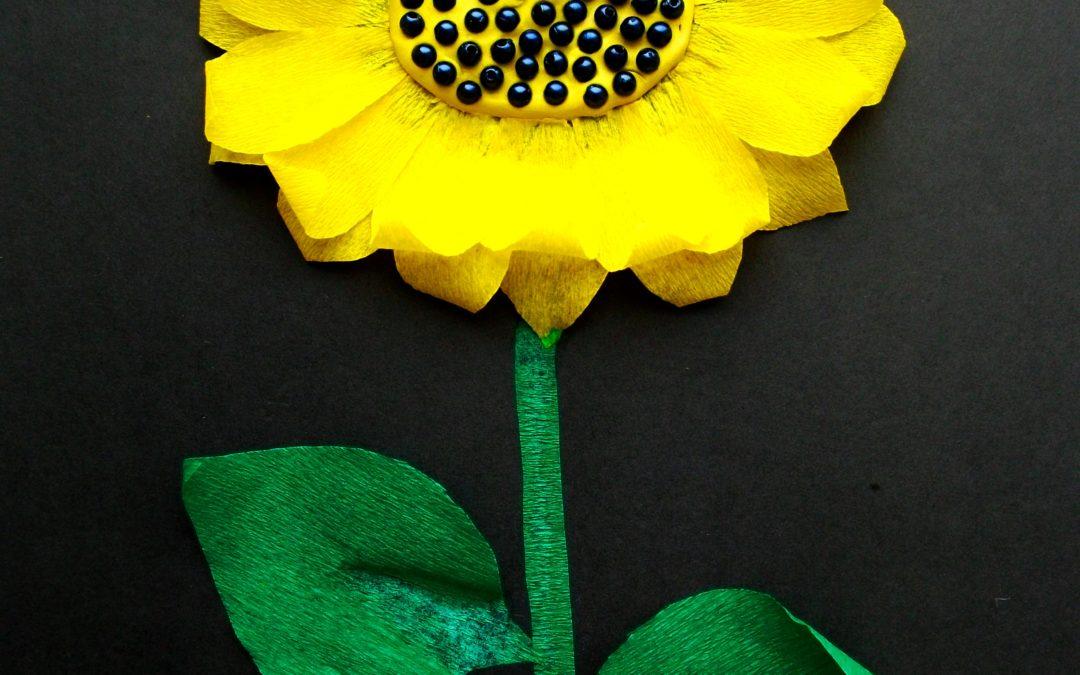 аппликации цветов из бумаги для детей 1