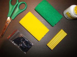 аппликации цветов из бумаги для детей 2
