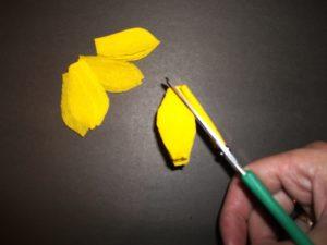 аппликации цветов из бумаги для детей 4