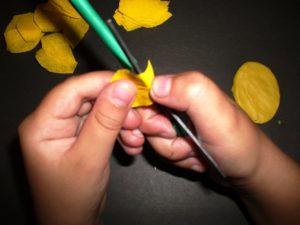 аппликации цветов из бумаги для детей 6