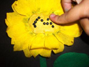 аппликации цветов из бумаги для детей 8