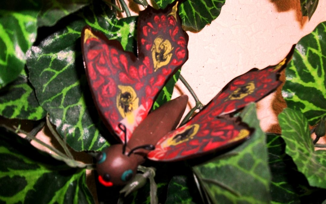 поделка бабочка для детей 1