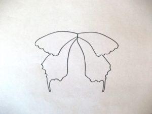 поделка бабочка для детей 3 3