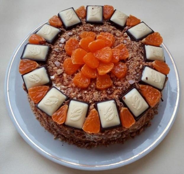 рецепт торта из пряников фото
