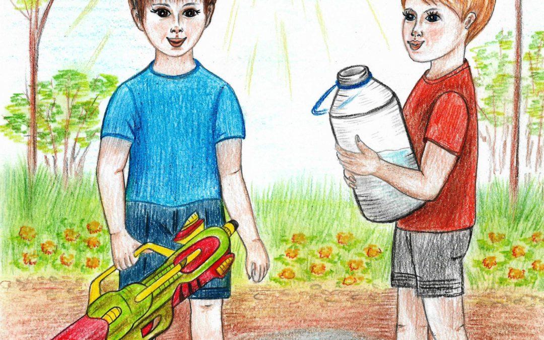 стихи для детей с картинками иллюстрация