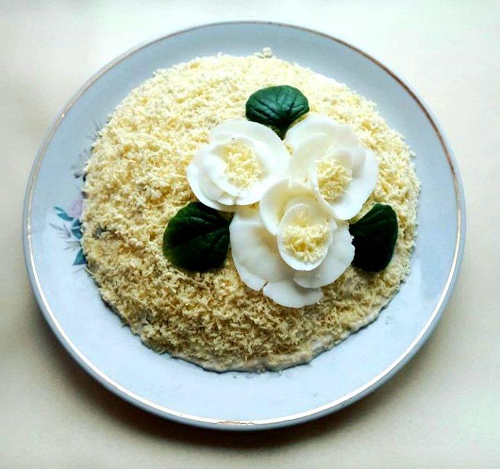 рецепты вкусных салатов с грудкой фото