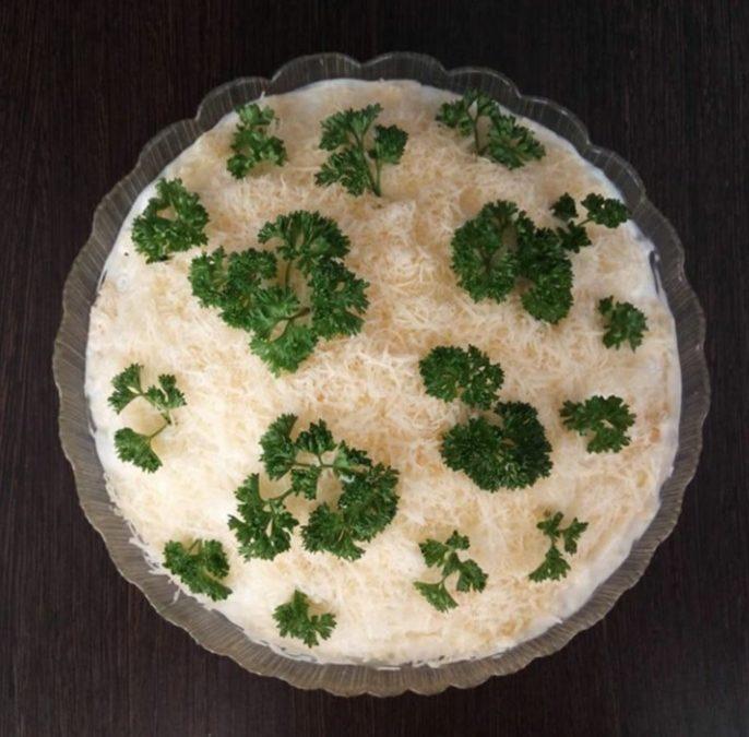 салаты с картошкой фото