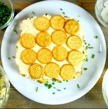 салат с крекером 1